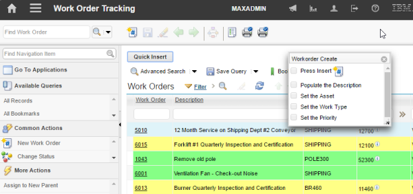The embedded Maximo training tool – MaxAssist has New Functionality: Dynamic Page Guides