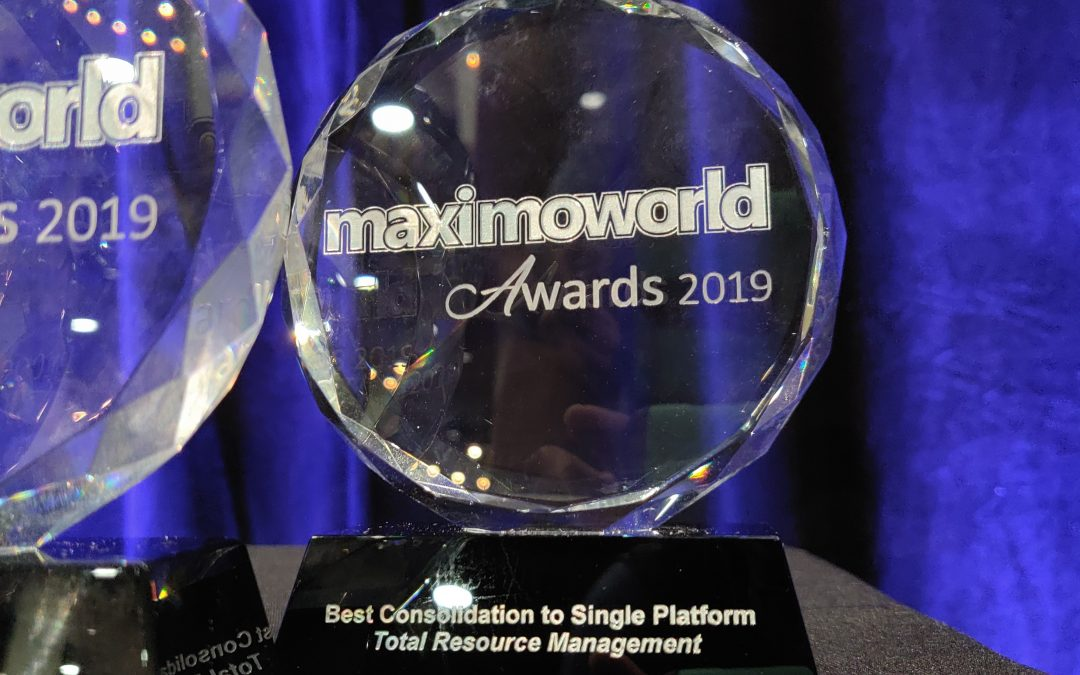 TRM Wins Best Consolidation to a Single Platform Award at MaximoWorld